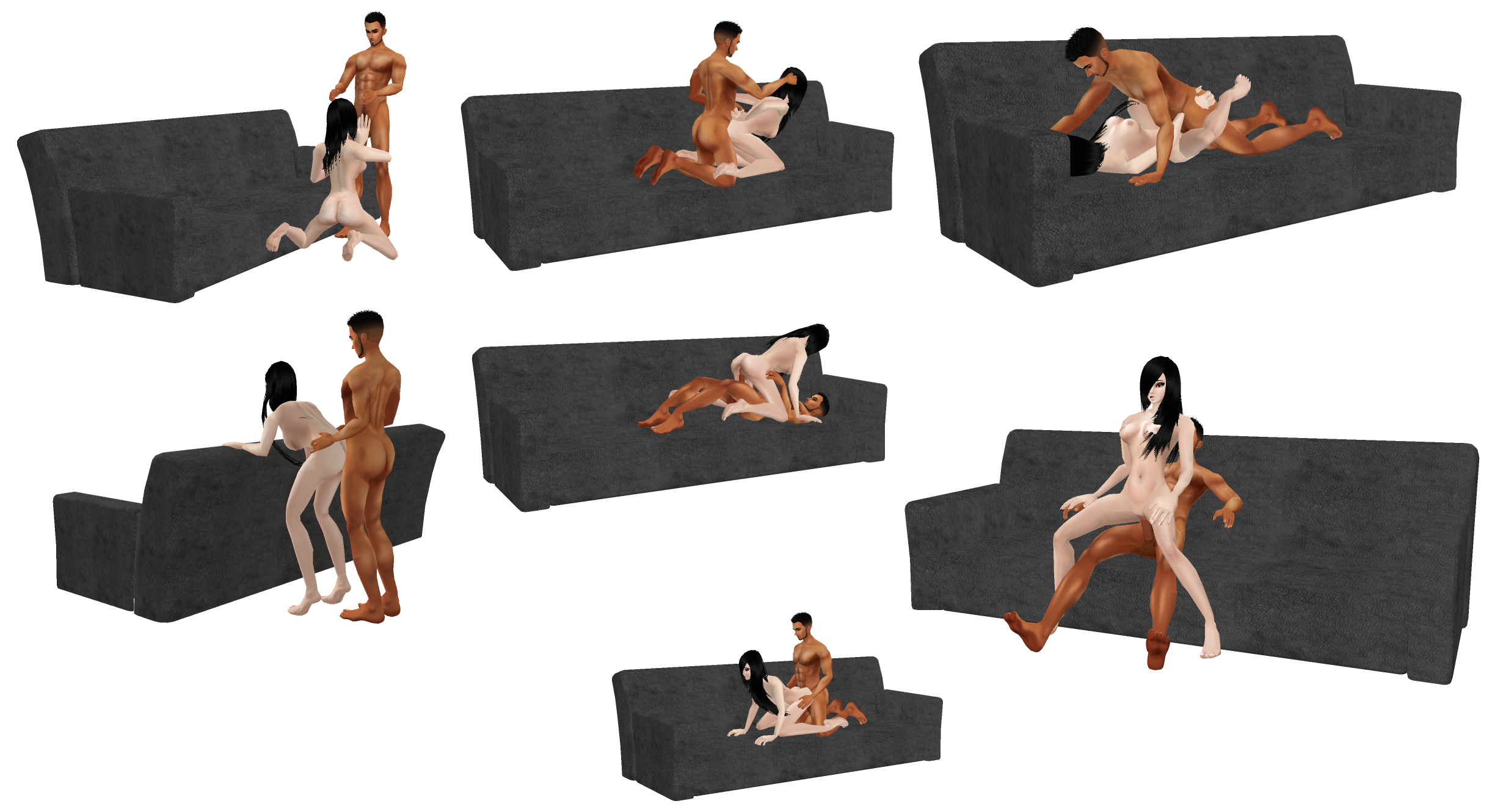 Couch position sex